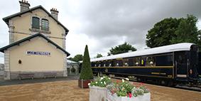 Train touristique à vapeur - Mortagne-sur-Sèvre